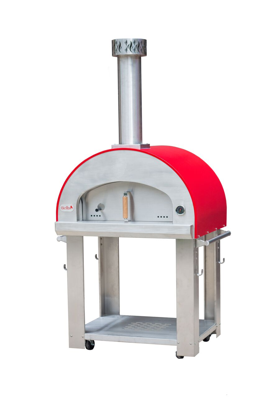 Grande Usa 32 Quot Portable Wood Fired Pizza Oven With Cart