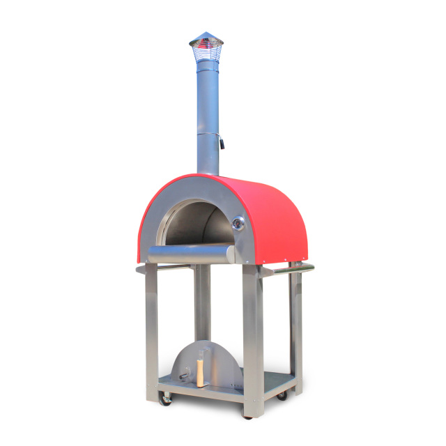 portable pizza oven medio usa 28 quot portable wood fired pizza oven with cart 28639